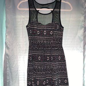 Aztec mini dress!